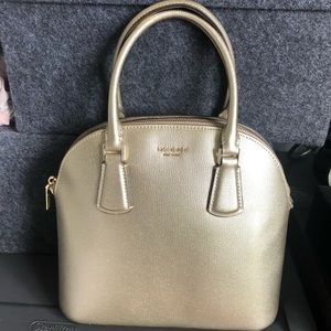 NWT *Accepting Offers!* GOLD Kate Spade Satchel
